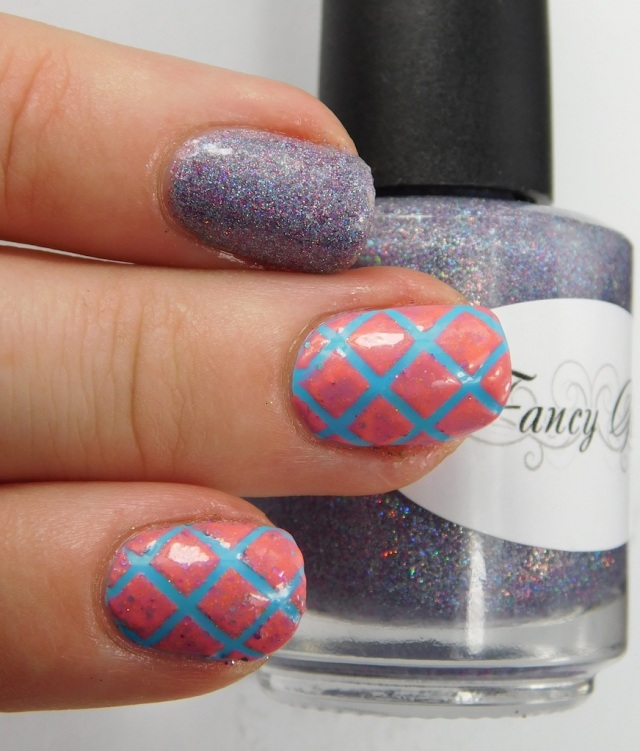 Fancy Gloss Glowing Icicles, Baroness X Topanga Teal, Girly Bits Fragments | Be Happy And Buy Polish