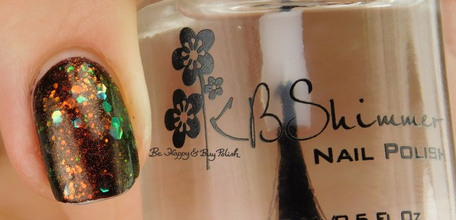 KBShimmer Clearly On Top right hand | Be Happy And Buy Polish
