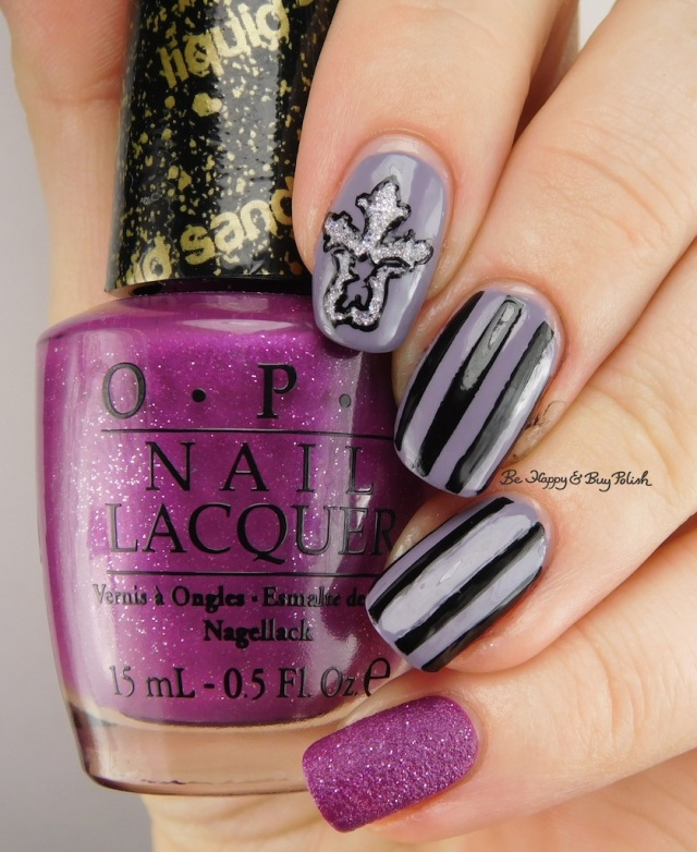 OPI My Current Crush, Funky Fingers Dark Night, Zoya Tilly, Bad Bitch Polish You're a Star(ling) | Be Happy And Buy Polish