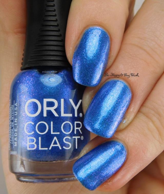 Orly Color Blast Batgirl Caped Crusader | Be Happy And Buy Polish