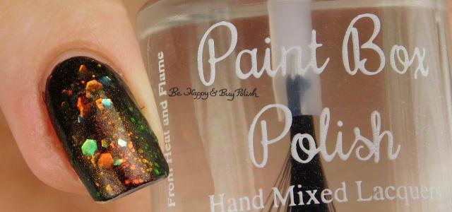 Paint Box Polish Like Lightning right hand | Be Happy And Buy Polish
