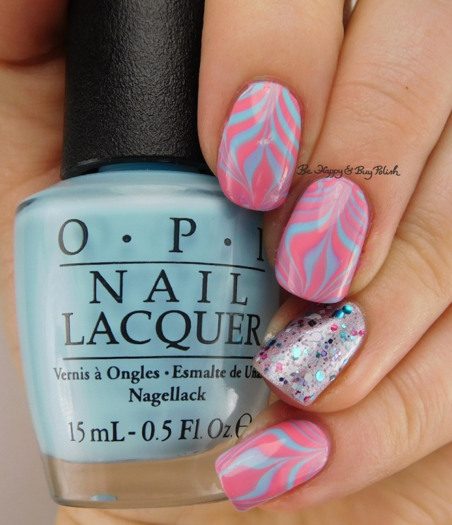 Pregnancy and Infant Loss Awareness watermarble | Be Happy And Buy Polish