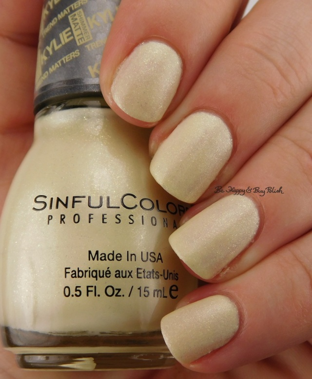 SinfulColors Butter Kup Kylie Trend Matters Angel | Be Happy And Buy Polish