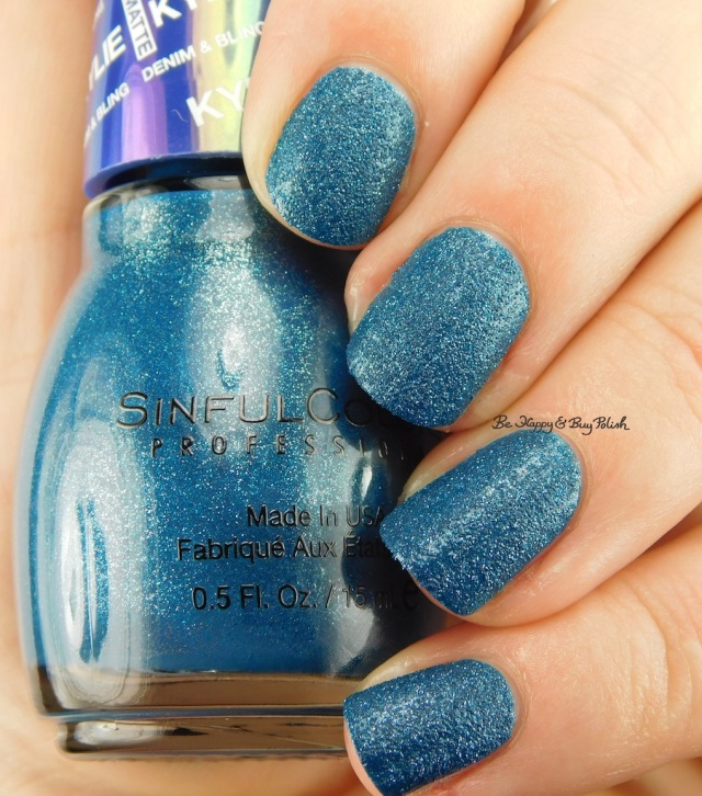 SinfulColors Kargo Kylie Denim + Bling | Be Happy And Buy Polish