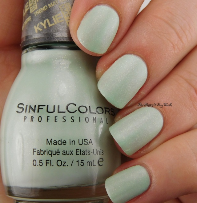 SinfulColors Kool as a Kukumber Kylie Trend Matters Angel | Be Happy And Buy Polish