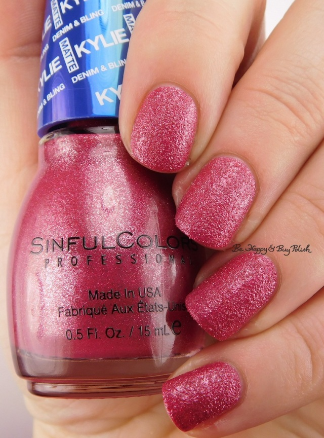 SinfulColors Krop Top Kylie Denim + Bling | Be Happy And Buy Polish