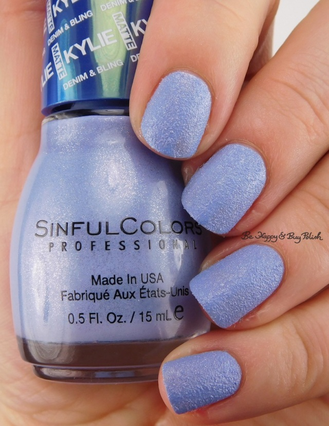SinfulColors Kurves Kylie Denim + Bling | Be Happy And Buy Polish