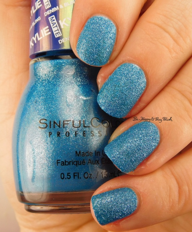 SinfulColors Kustom Fit Kylie Denim + Bling | Be Happy And Buy Polish