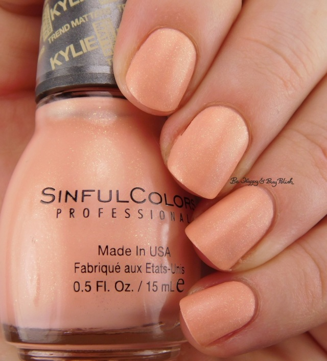 SinfulColors V.I.Peach Kylie Trend Matters Angel | Be Happy And Buy Polish