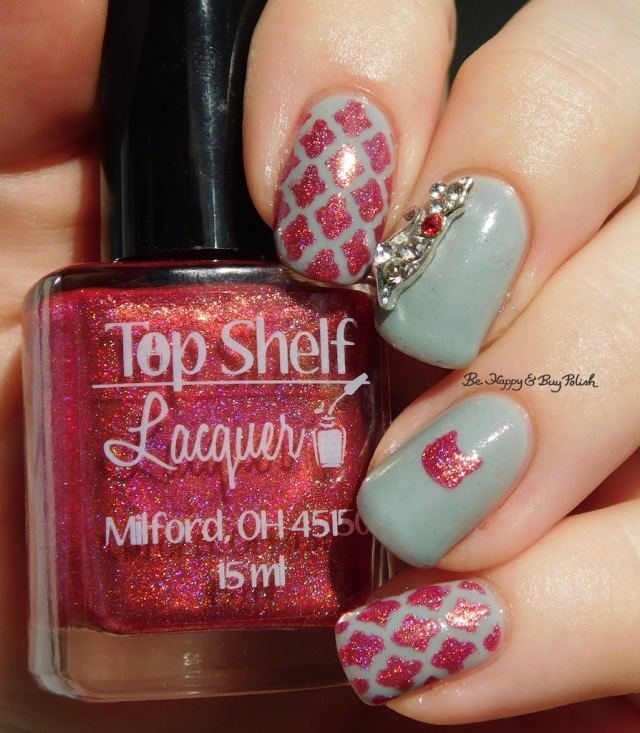 Top Shelf Lacquer Fireball Hella Holo Customs holographic, Pretty & Polished Barnwood Builder | Be Happy And Buy Polish