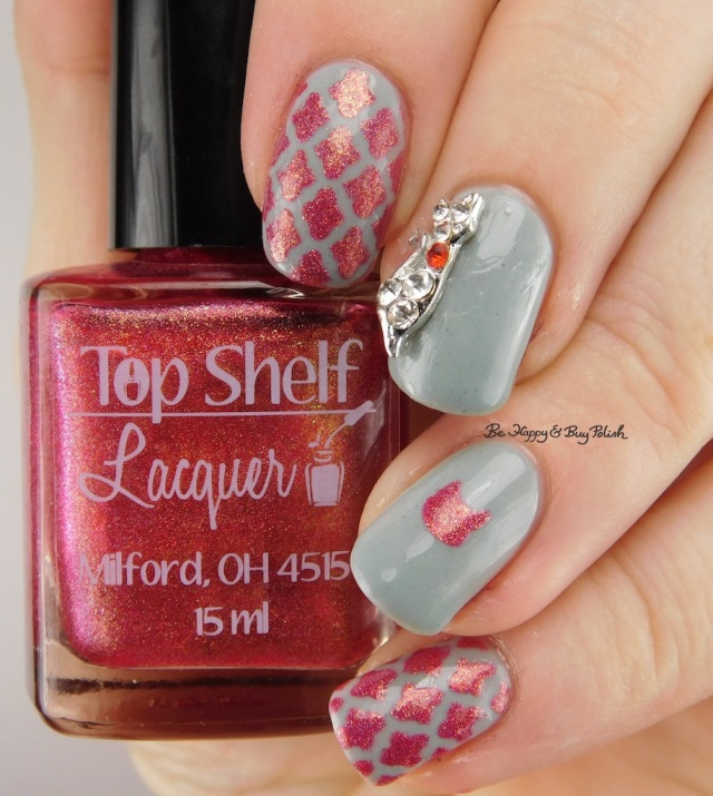 Top Shelf Lacquer Fireball Hella Holo Customs, Pretty & Polished Barnwood Builder | Be Happy And Buy Polish