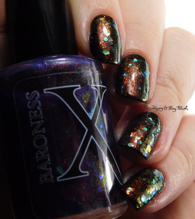 Baroness X Dulcinea, Baroness X Opulent Oddity, China Glaze Midtown Magic color shift | Be Happy And Buy Polish