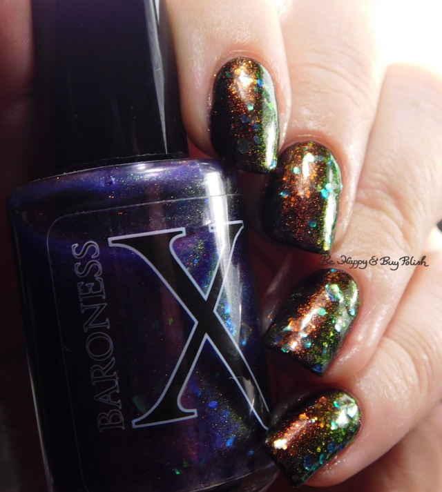 Baroness X Dulcinea, Baroness X Opulent Oddity, China Glaze Midtown Magic red to green shift | Be Happy And Buy Polish