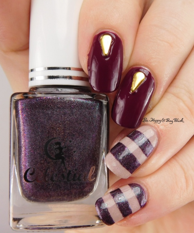 Celestial Cosmetics Dragon Wings, OPI What's The Hatter With You?, Pretty & Polished Creme de la Creme | Be Happy And Buy Polish