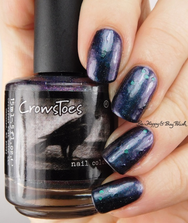 CrowsToes Nail Color Murder in the 2nd | Be Happy And Buy Polish