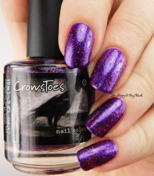 CrowsToes Nail Color Over & Over | Be Happy And Buy Polish