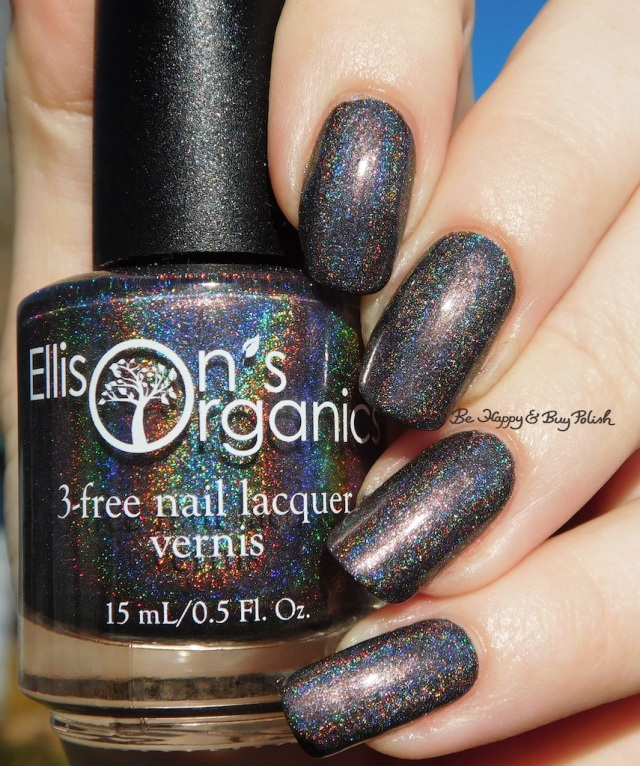 Ellison's Organics Make My Wish Come True holographic | Be Happy And Buy Polish