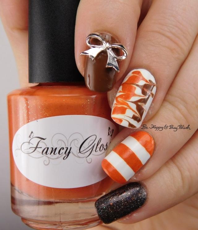 Fancy Gloss orange prototype, Polish 'M Instant Human, Bad Bitch Polish Chestnut | Be Happy And Buy Polish