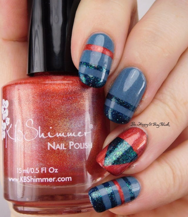 KBShimmer Poppy Kisses, Polish 'M Festival of Fall, Pretty & Polished Weather the Storm | Be Happy And Buy Polish
