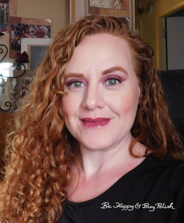 makeup with Urban Decay and LipSense | Be Happy And Buy Polish