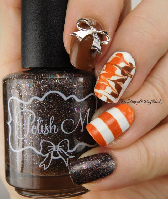 Polish 'M Instant Human, Bad Bitch Polish Chestnut, Fancy Gloss orange prototype | Be Happy And Buy Polish