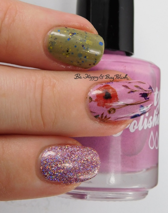 Pretty & Polished A Cashmere Rose By Any Other Name, KBShimmer Open Toad Shoes, KBShimmer Things That Make You Go Bloom   Be Happy And Buy Polish