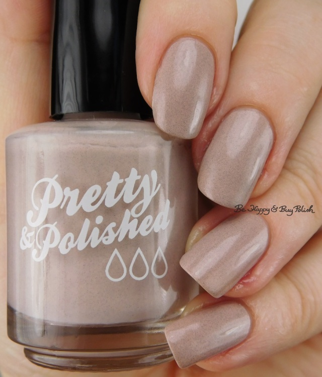 Pretty & Polished Creme de la Creme  | Be Happy And Buy Polish