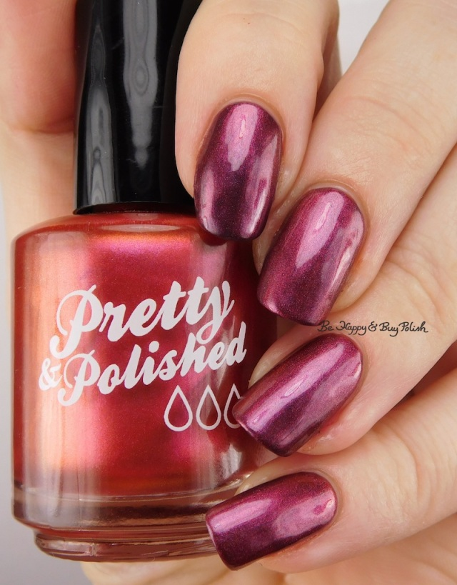 Pretty & Polished Sleighing It! over That's Just Plum Dandy | Be Happy And Buy Polish