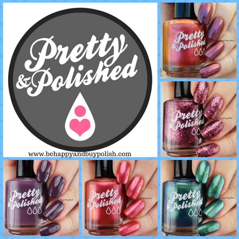 Pretty & Polished Winter 2016 nail polish collection swatches + review [partial]