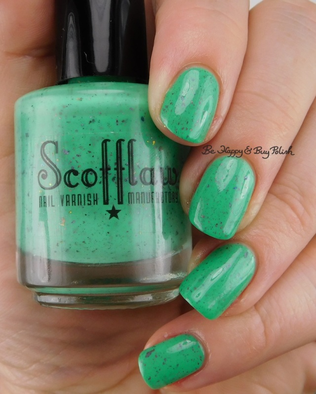 Scofflaw Nail Varnish Radioactive Mermaid | Be Happy And Buy Polish