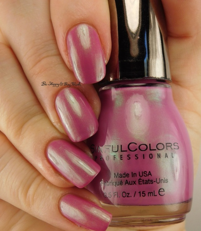 Sinful Colors Iridescent Color Shell Out | Be Happy And Buy Polish