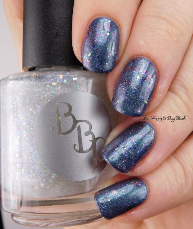 Bad Bitch Polish Dripping Icicles, ILNP Phoenix, Super Moon Lacquer Mystic Mountain | Be Happy And Buy Polish