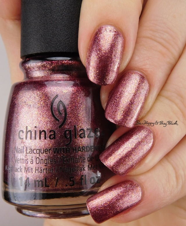 China Glaze Strike Up a Cosmo | Be Happy And Buy Polish