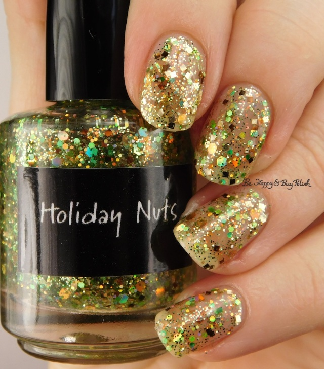 CrowsToes Nail Color Holiday Nuts | Be Happy And Buy Polish
