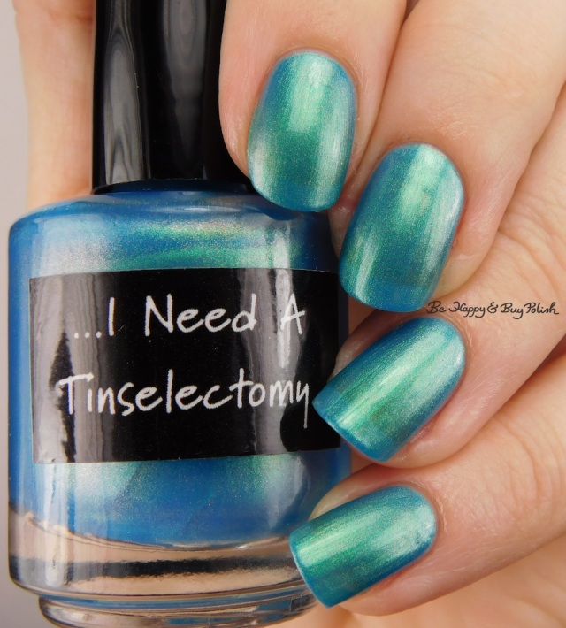 CrowsToes Nail Color I Need a Tinselectomy | Be Happy And Buy Polish