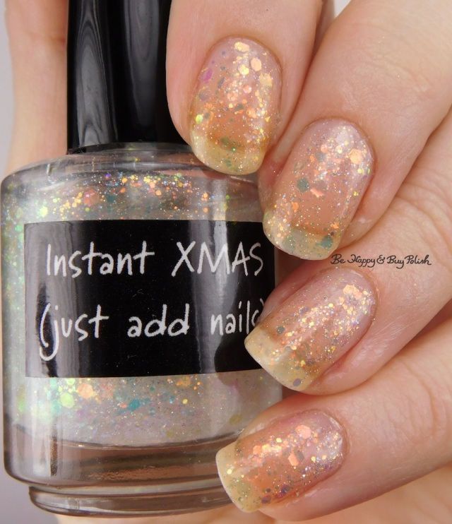 CrowsToes Nail Color Instant Xmas (just add nails) | Be Happy And Buy Polish