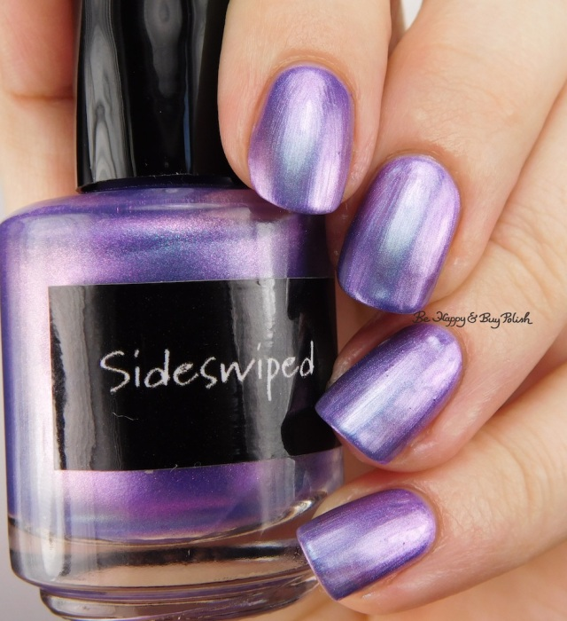 CrowsToes Nail Color Sideswiped | Be Happy And Buy Polish