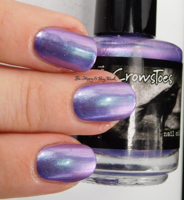 Sideswiped CrowsToes Nail Color | Be Happy And Buy Polish