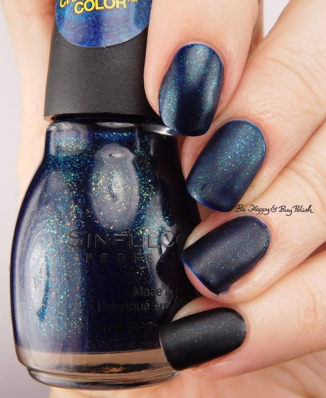 Sinful Colors Nice Guise, Nova, What's Your Name comparison with matte top coat | Be Happy And Buy Polish