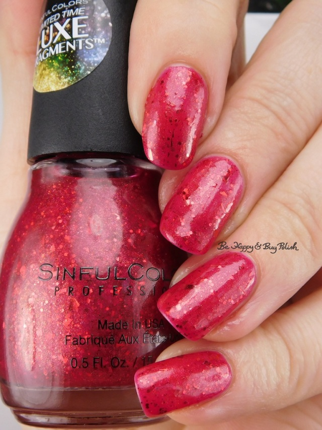 Sinful Colors Walk the Walk Luxe Fragments | Be Happy And Buy Polish