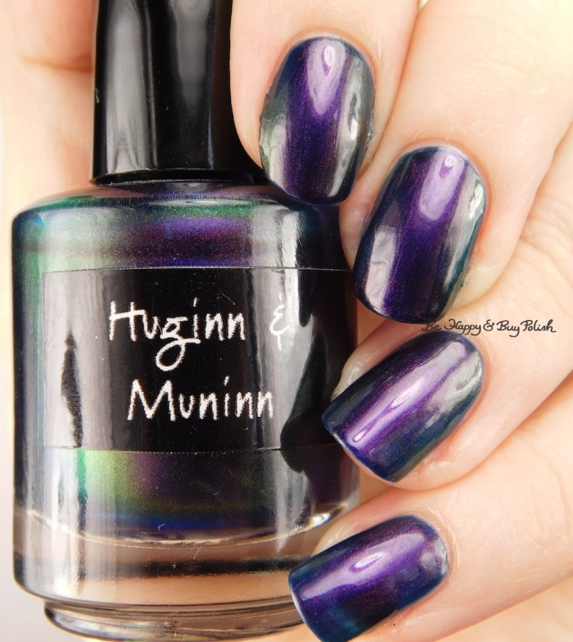 CrowsToes Nail Color Huginn & Muninn | Be Happy And Buy Polish