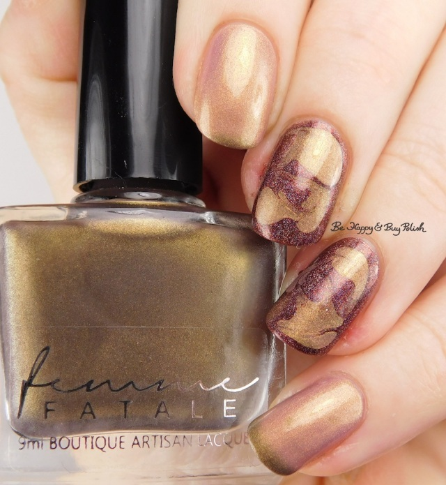 Femme Fatale Cosmetics Euna transition state, Girly Bits Cosmetics Sep-timber | Be Happy And Buy Polish