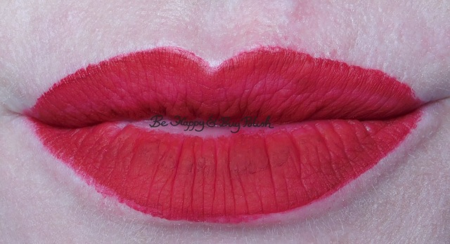 Jesse's Girl matte finish lip color in Sultry lip swatch | Be Happy And Buy Polish