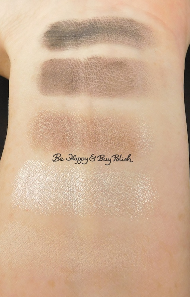 Jesse's Girl Sounds of the City eyeshadow palette swatches | Be Happy And Buy Polish