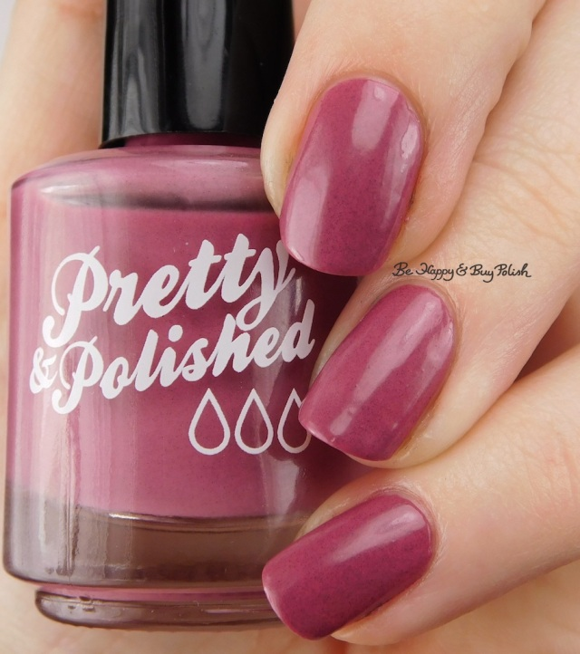 Pretty & Polished Saucy Marsala | Be Happy And Buy Polish