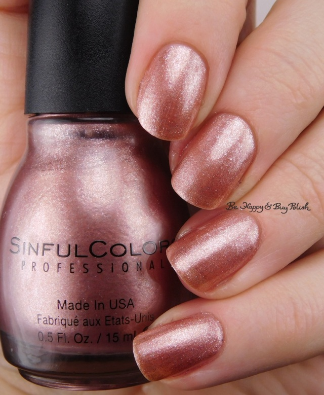 Sinful Colors Gold N' Roses | Be Happy And Buy Polish