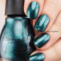 Sinful Colors Gold N' Roses, Peri-Twinkle, Decem-brrr, I Pine For You swatches + review