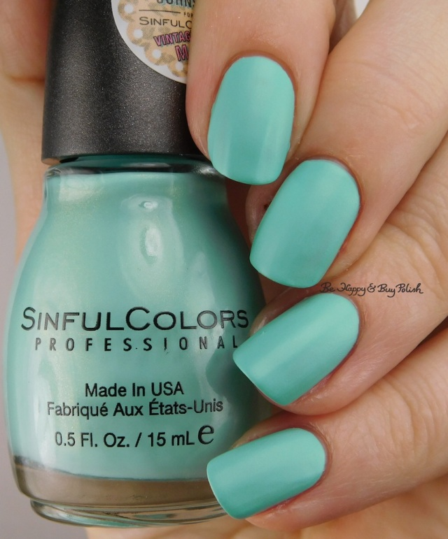 Sinful Colors Mint Chip | Be Happy And Buy Polish