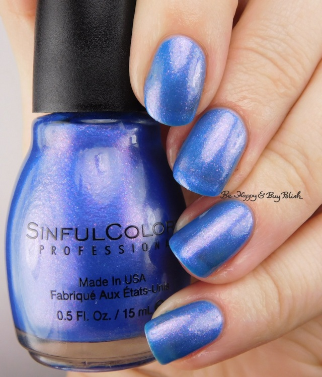 Sinful Colors Peri-Twinkle | Be Happy And Buy Polish