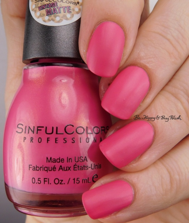 Sinful Colors Pin Up Pink | Be Happy And Buy Polish